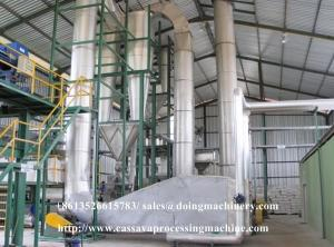China cassava flour processing equipment cassava flour production