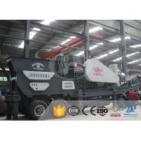 China PE400*600 Industrial Compact Mobile Crusher Diesel Engine With Belt Conveyor on sale