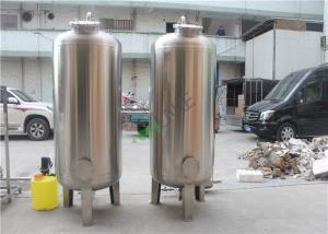 China SS304 5TPH Ro Water Treatment Plant / Reverse Osmosis Water Purification Plant on sale