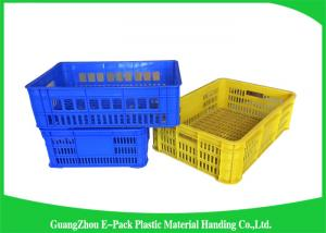 ... Quality Industrial Plastic Storage Containers , Agriculture Solid  Plastic Milk Crates For Sale ...