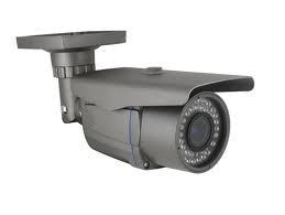China Waterproof Weatherp IR bullet Cameras with vari focus lens security camera with 4~9mm len on sale