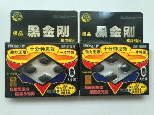 China Hei Jin Gang 100% Natural Male Enhancement Pills Anti Premature Ejaculation on sale