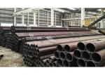 Bright Cold Finished Seamless Tube / Black Cold Drawn Steel Pipe High Strength