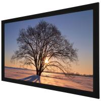 Custom 100 Inch 4K Ultra HD  Fixed Frame Screen / home theatre projection screen