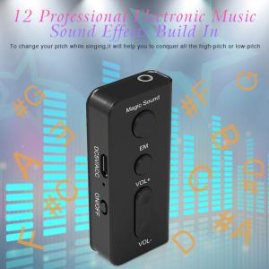 Sound Voice Changer Magic Box Earphone Headphone for Live