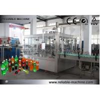 Carbonated Drink Production Line PET Bottle Filling Easy Operation SS304