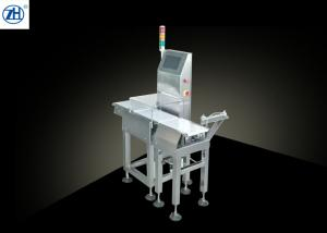 China Food Industry Auxiliary Machine Automatic Belt Conveyor Check Weigher With Air Jet on sale