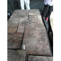 China Natural American Walnut Burl Wood Veneer Sheet For Furniture on sale
