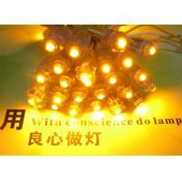 China LED Pixel Lamp Exposed Light String 50pcs Blue  9mm LED Module DC5V Waterproof  Led Light Christmas Light on sale