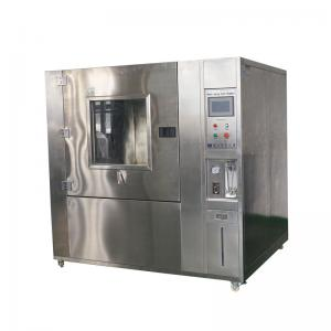 China 14~16 L / Min PLC Touch Screen Water Flow Climatic Test Chamber For Water Spray Test on sale