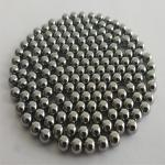 China provide 0.5mm bearing steel balls 1mm 2mm carbon steel ball with low price
