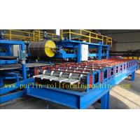 China Hydraulic High Speed PU Sandwich Panel Roll Forming Machine for Roof and Wall Panel on sale