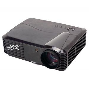 China Dual Core Android 4200 Lumens Led projectors KTV 3D HD 1080p 1280*800 wifi mobile phones and  computers connected TV on sale