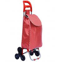 STB Trolley Dolly Stair Climber bag, Shopping Grocery Foldable Cart Condo Apartment Elderly Triple wheels