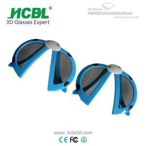 China Virtual Reality Plastic Polarized Safety Glasses 3D Movie Glasses on sale