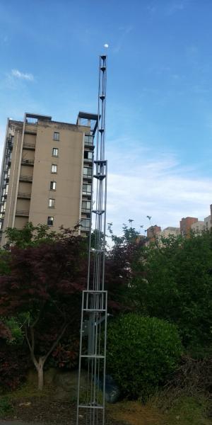 12m telescopic antenna tower lattice tower steel tower light weight