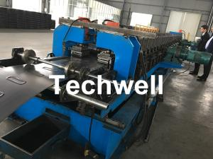 China 1.5-2.5mm Carbon Steel Cable Tray Roll Forming Machine With 5 Ton Hydraulic Uncoiler on sale