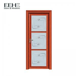 China Non - Thermal Break Aluminium Swing Door For Shopping Mall Environmentally Friendly on sale