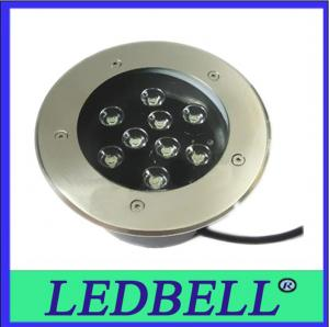 China 9w IP67 Up Tile Color Led Inground Light , Stainless Steel on sale