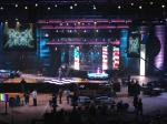 Large Indoor Rental Led Backdrop Curtain Led Wall Display Screen With High Brightness