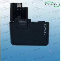 Black BOSCH Power Tool Battery Replacement 9.6V 3.0Ah NIMH For BAT048 / BAT100
