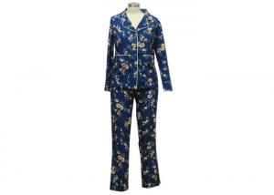 China Fashion Printed Womens Matching Loungewear , Comfy Ladies Casual Loungewear on sale