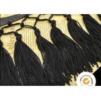 Tassel Fringe Trim Fabric Fringe for Costume Pillow Curtains, handmade beaded fringe for curtains, Vintage Multi Color