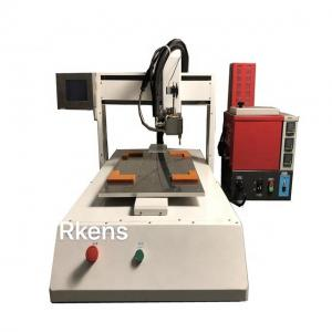 China Hot Melt Glue Adhesive Dispensing Machine With Heating Device on sale