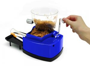 China ome stainess steel Tobacco cigarette rolling maker machine with bobacco hopper on sale