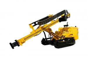 China JK520 Crawler Mounted Hydraulic DTH Drilling Rig on sale