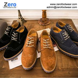 China 2014 hot men leather shoes suede shoes A448 formal leather shoes on sale