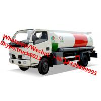 2017s high quality and lowest price CLW 5,000Liters oil dispensing truck for sale, HOT SALE! CLW 5cbm refueler truck