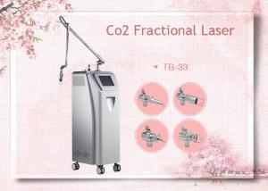 China RF Tube Medical CO2 Fractional Laser For Acne Scars / Pockmarks on sale