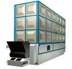 Système de chauffage à mazout de chaudière à vapeur de double gaz combustible de 10 tonnes de la plaque d'acier inoxydable