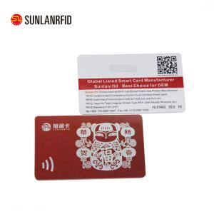 China Newest smart card chip card with magnetic stripe on sale