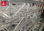 Lightweight Aluminum Spigot Truss , Outdoor Performance Universal Studio Lighting Roof Truss Structure