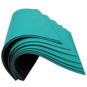 China 106 Ohms Cleanroom ESD Rubber Static Dissipative Mat on sale
