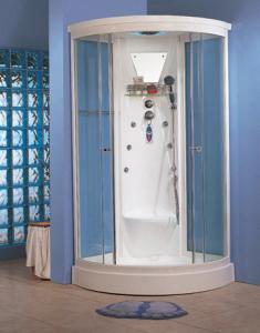 China Pièce de douche d'intérieur de vapeur de bain de sauna de Bath de douche avec le système de stérilisation de l'ozone on sale