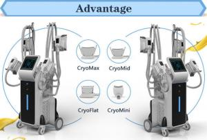 China Nubway hot sale 4 cryo handles working simultaneously fat freezing cryolipolysis facial cryo machine on sale
