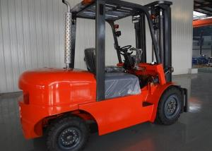 China Heavy Duty Industrial Forklift Truck 5 Ton Rated Load , Diesel Engine Forklift Truck on sale