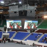 Economical Waterproof Led Outdoor Advertising Board Acting / Performance / Events