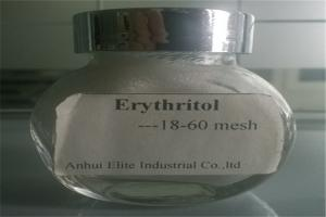 China Popular Low Calorie Sweeteners Food Grade Erythritol 18 - 60 Mesh For Baked Product on sale