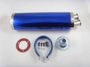 China Pots d'échappement bleus de la moto H62/H68 de laiton pour des voitures automobile, autobus, ATV on sale