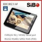 Tableta de Android POE de la automatización de la casa con el sensor de la humedad de la temperatura