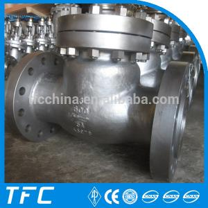 China cast steel bolted cover API 6D check valve on sale
