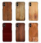 China Customized Wood Printed mobile phone shell For iPhone X , 3D sublimation blank phone case for iphone 10 wholesale