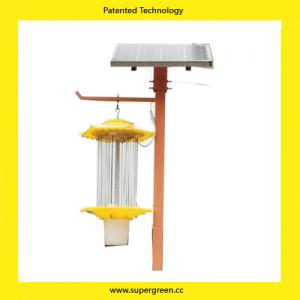 China Distributor price Organic farms Using Solar Pest Repellent Lamp for Pesticide on sale