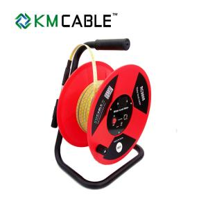 China Red High Accuracy Water Level Meter Tape For Measuring Borehole Drilling Depth on sale
