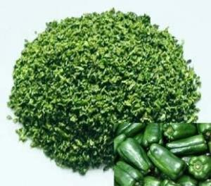 China NEW AGRO PRODUCT Dry Green Vegetables /1*3mm,3*3mm,5*5mm Air-dried red/yellow/Green Pepper on sale
