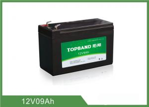 China 9Ah 12 Volt Lithium Battery Deep Cycle , Rechargeable Lithium Battery Pack on sale